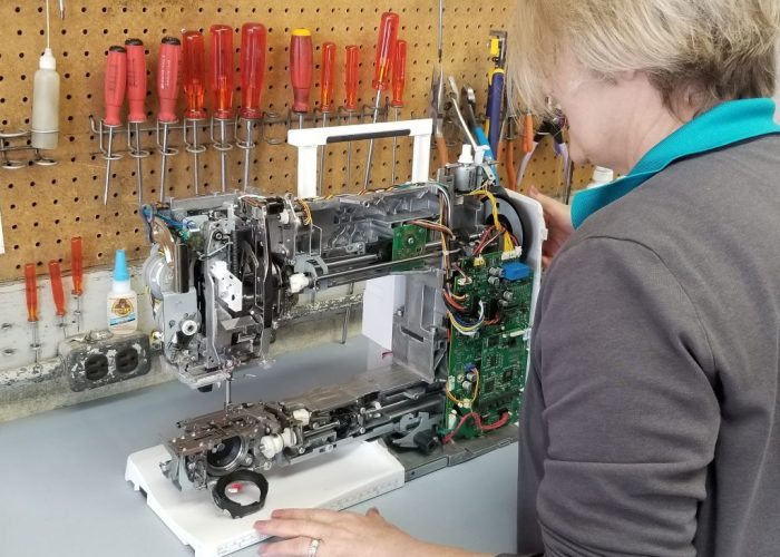 Sandshills sew machine repair
